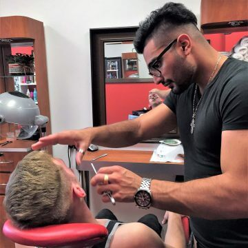 Professional Men's Hot Shave example image